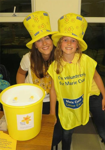 Emma Graham, Marie Curie fundraiser