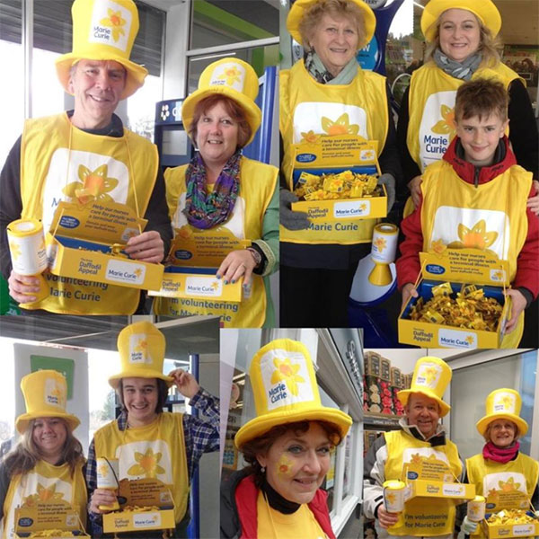 Marie Curie Fundraisers