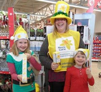 Marie Curie volunteer collectors