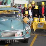 Morris Minor Fundraising for Marie Curie